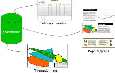 spatial and attribute data in gis relationship between them