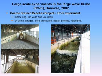 Large scale experiments in the large wave flume.jpg